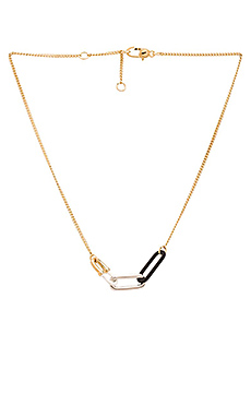 Marc by Marc Jacobs Bubble Chain Necklace in Black Multi