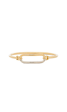 Marc by Marc Jacobs Bubble Hinge Cuff Bracelet in Oro Multi
