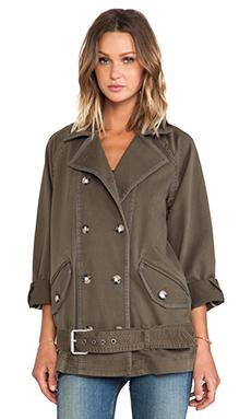 Marc by Marc Jacobs Zeta Twill Oversize jacket in Tarmac