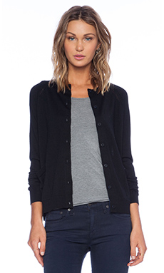Marc by Marc Jacobs Grayson Cardigan in Black Multi