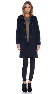 Marc by Marc Jacobs Paddington Wool Toggle Jacket in Normandy Blue