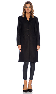 Marc by Marc Jacobs Hiro Felt Jacket in Black