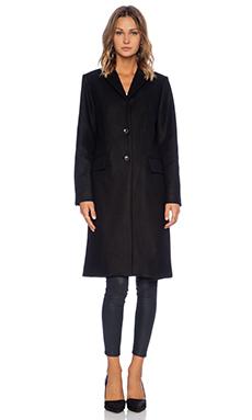 Marc by Marc Jacobs Hiro Felt Jacket in Black