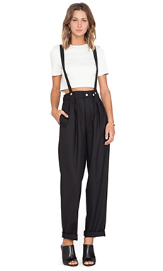 Marc by Marc Jacobs Mira Suiting Pants in Black