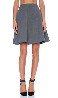 Marc by Marc Jacobs Sixties Circle Skirt in Shadow Grey Melange