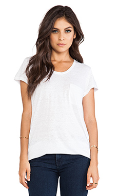 Marc by Marc Jacobs Carmen Jersey Tee in White