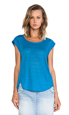 Marc by Marc Jacobs Eloise Ombre Jersey Tee in Spring Sky Blue