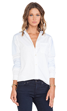 Marc by Marc Jacobs Miki Oxford Button Down in Pale Blue Multi