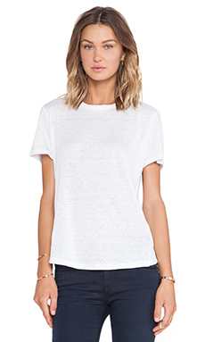 Marc by Marc Jacobs Carmen Short Sleeve Tee in White