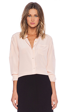 Marc by Marc Jacobs Silk Blouse in Barely Nude