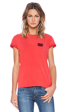 Marc by Marc Jacobs Ryne Tee in Cambridge Red
