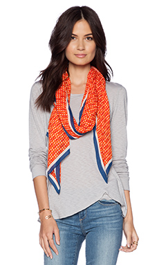 Marc by Marc Jacobs Perf-ection Scarf in Orange Glow Multi
