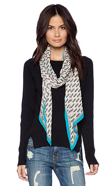 Marc by Marc Jacobs Perf-ection Scarf in Tinted Pearl Multi