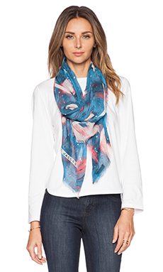 Marc by Marc Jacobs Stargazer Scarf in Aquamarine Multi