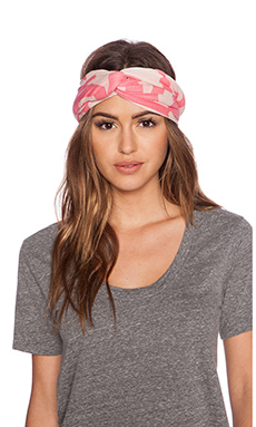 Marc by Marc Jacobs Bold Logo Scarf in Cheek Pink Multi