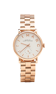 Marc by Marc Jacobs Baker Watch in Rosegold