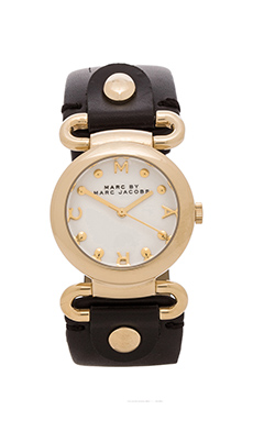 Marc by Marc Jacobs Molly Watch in Gold & Black