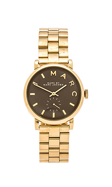 Marc by Marc Jacobs Baker in Gold & Taupe
