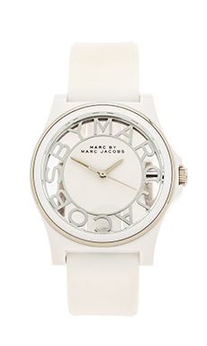 Marc by Marc Jacobs Skeleton in White