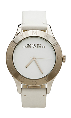 Marc by Marc Jacobs Blade Watch in White