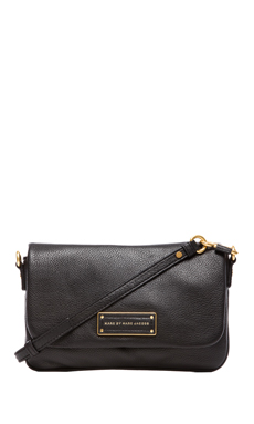 Marc by Marc Jacobs Too Hot To Handle Flap Percy Bag in Black