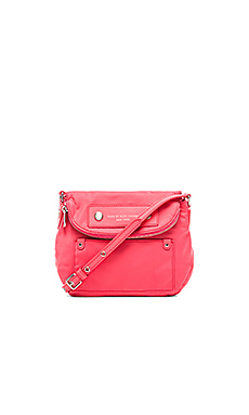 Marc by Marc Jacobs Preppy Nylon Mini Natasha in Bright Coral