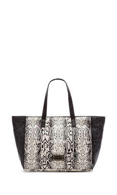Marc by Marc Jacobs Here's the T Snake Colorblocked Tote in Lily Flower Multi