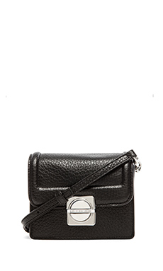 Marc by Marc Jacobs Top Schooly Leather Jax Bag in Black