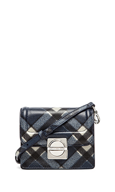 Marc by Marc Jacobs Top Schooly Printed Jax Bag in Skipper Blue Multi