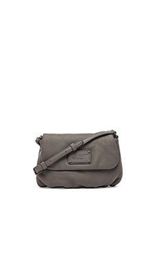 Marc by Marc Jacobs Electro Q Flap Percy Bag in Cylinder Grey