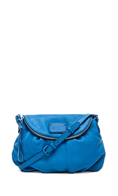 Marc by Marc Jacobs Electro Q Natasha Cross Body Bag in Electric Blue Lemonade