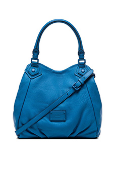 Marc by Marc Jacobs Electro Q Fran Bag in Electric Blue Lemonade