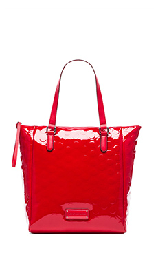 Marc by Marc Jacobs Take Me Tote in Cambridge Red