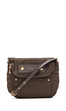 Marc by Marc Jacobs Preppy Nylon Mini Natasha Bag in Dirty Martini