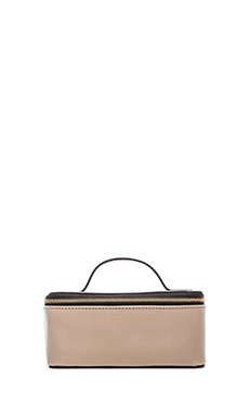 Marc by Marc Jacobs Sophisticato Colorblocked Small Travel Cosmetic Bag in Black Multi