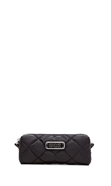 Marc by Marc Jacobs Crosby Quilted Narrow Cosmetic Bag in Black