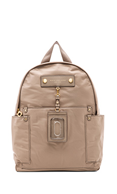 Marc by Marc Jacobs Preppy Nylon Backpack in Cement