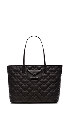 Marc by Marc Jacobs Quilted Tote 48 in Black