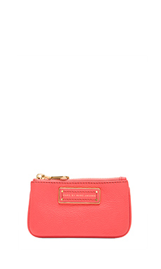 Marc by Marc Jacobs Too Hot to Handle Key Pouch in Rose Blush