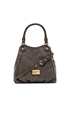 Marc by Marc Jacobs Classic Q Fran Bag in Faded Aluminum