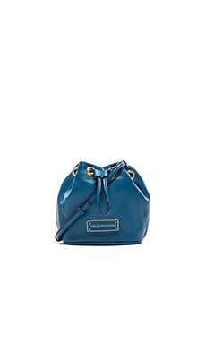 Marc by Marc Jacobs Too Hot to Handle Mini Drawstring Bag in Bluestone
