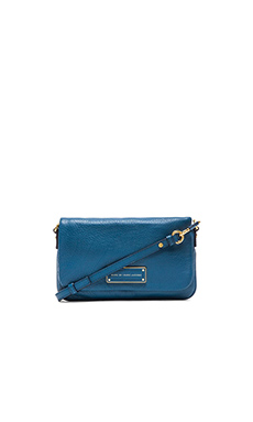 Marc by Marc Jacobs Too Hot To Handle Flap Percy Bag in Bluestone