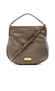 Marc by Marc Jacobs New Q Hillier Hobo Bag in Cement