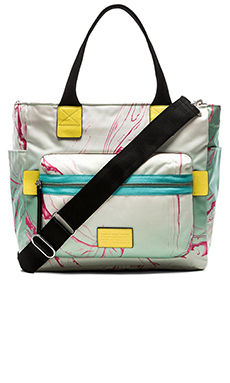 Marc by Marc Jacobs Domo Arigato Elizababy Tote in Light Mint Multi