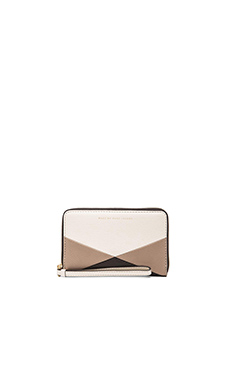 Marc by Marc Jacobs Sophisticato HVAC Wingman Wallet in Leche Multi