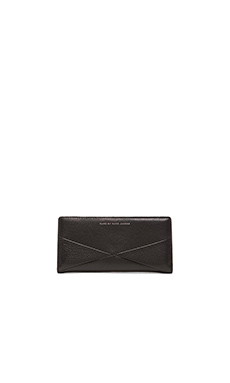 Marc by Marc Jacobs Sophisticato HVAC Tomoko Wallet in Black