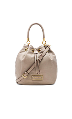 Marc by Marc Jacobs Too Hot to Handle Drawstring Bag in Cement