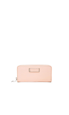 Marc by Marc Jacobs Too Hot to Handle Slim Zip Around Wallet in Tropical Peach