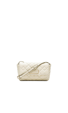 Marc by Marc Jacobs Crosby Quilted Julie Bag in Leche