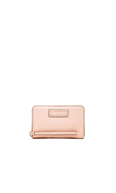 Marc by Marc Jacobs Too Hot to Handle Wingman Wallet in Tropical Peach